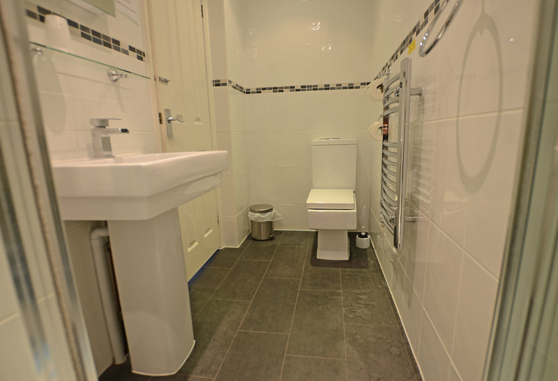 One of the En-Suite Bathrooms at The Royal Clarence, Burnham-on-Sea